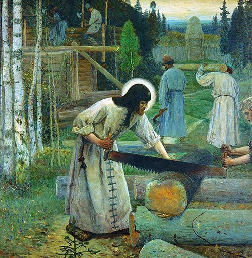 <p>Житие святого Сергия Радонежского, игумена всея Руси</p>